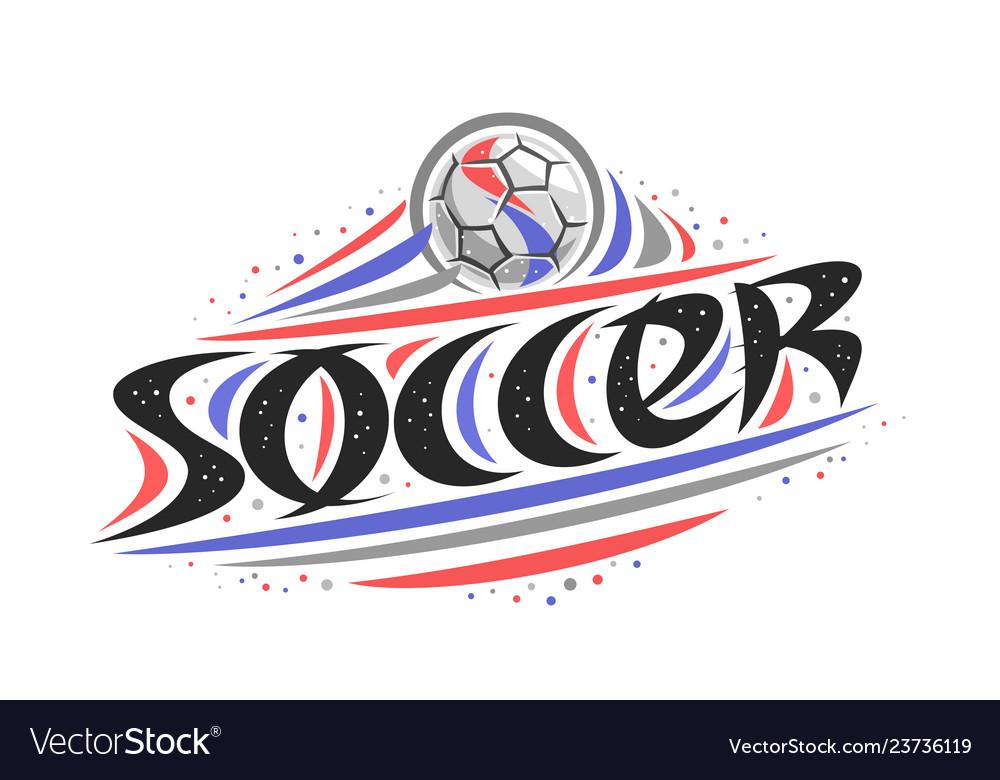 Logo for soccer