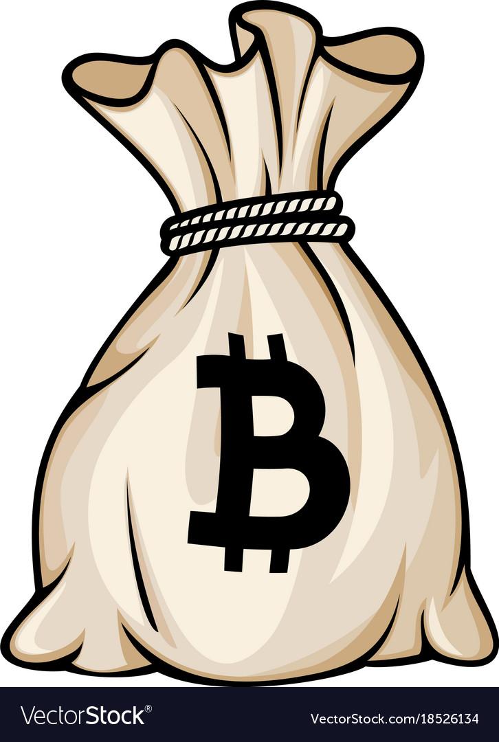 bitcoin bag btc liepsnos quad branduolys