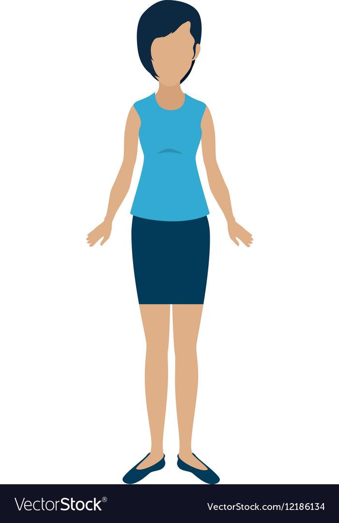Businesswoman character avatar icon