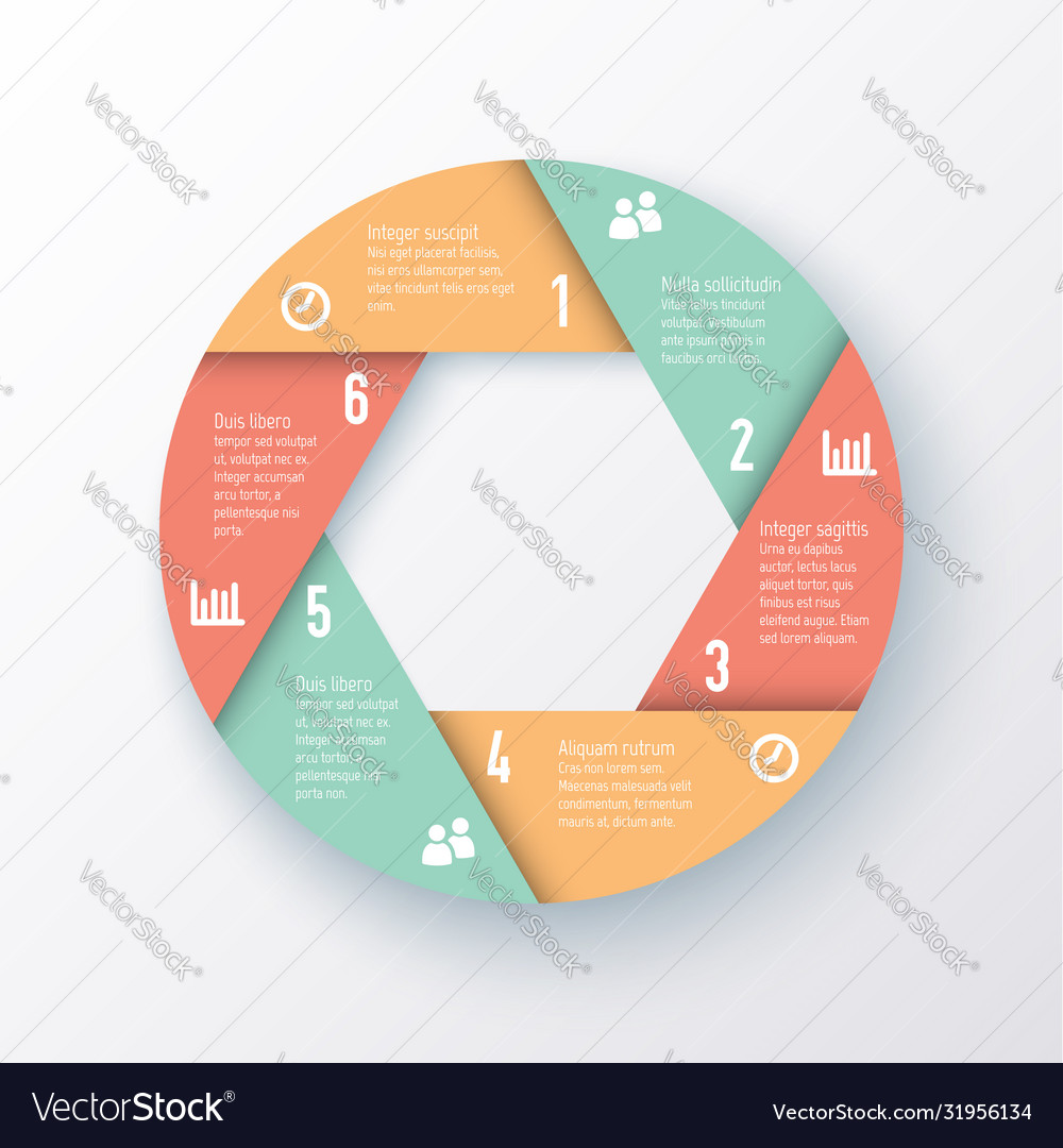 Elements for infographics template a