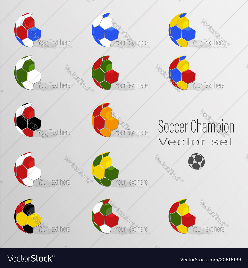 Soccer world champion set