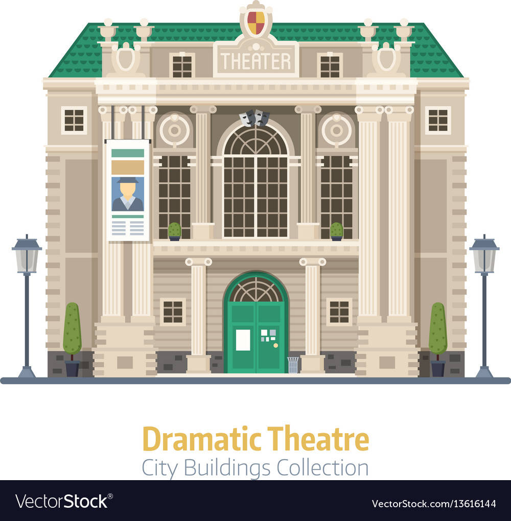 Dramatic theater building