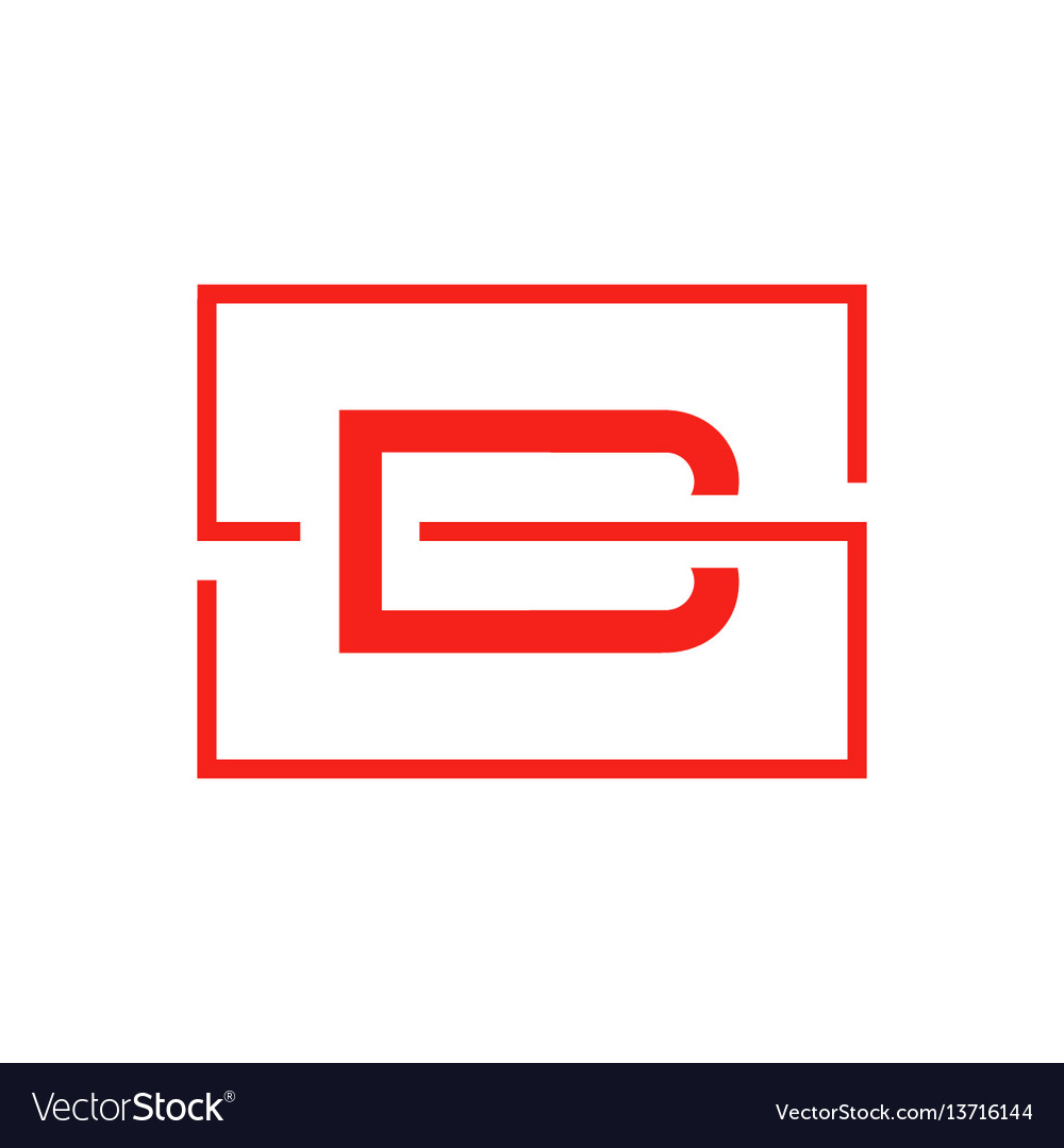 Letter b icon logo template