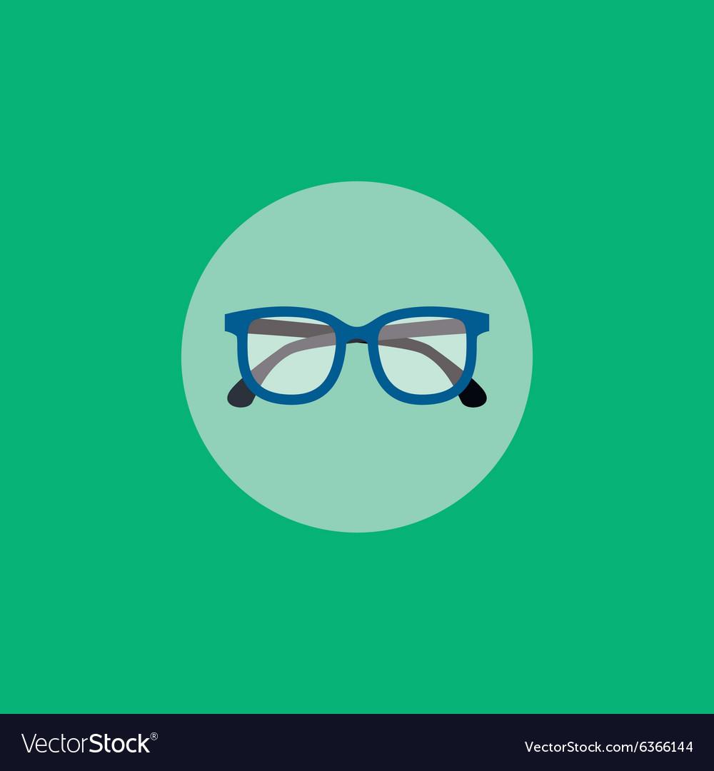 Retro glasses vector image