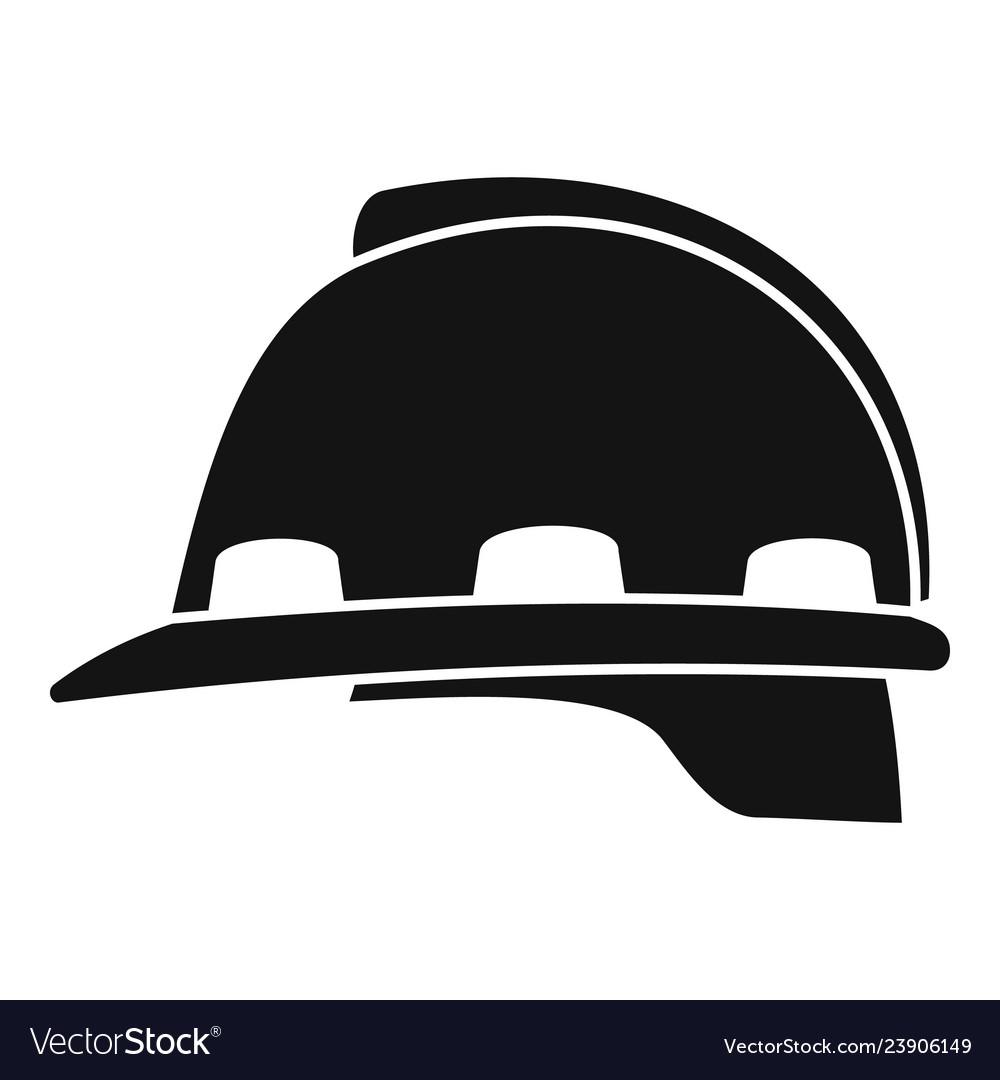 Architect helmet icon simple style