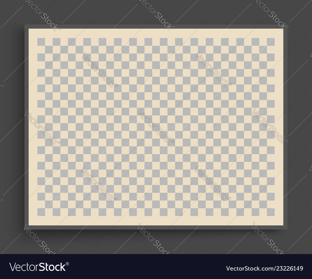 chess board background cover design template vector image