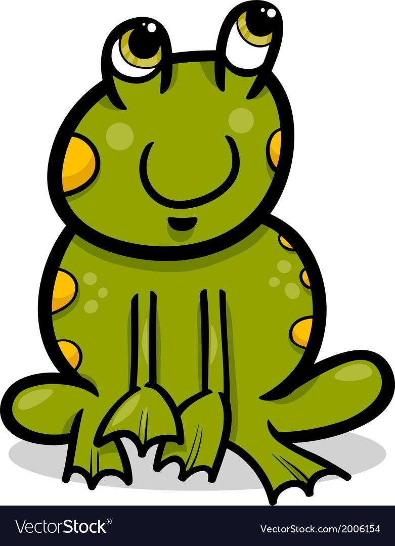 Frog animal cartoon
