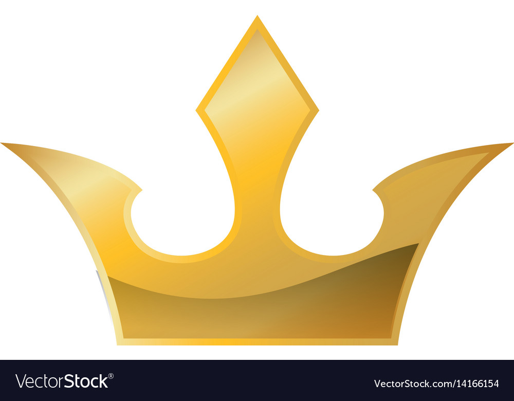 Royalty Crown Symbol Royalty Free Vector Image