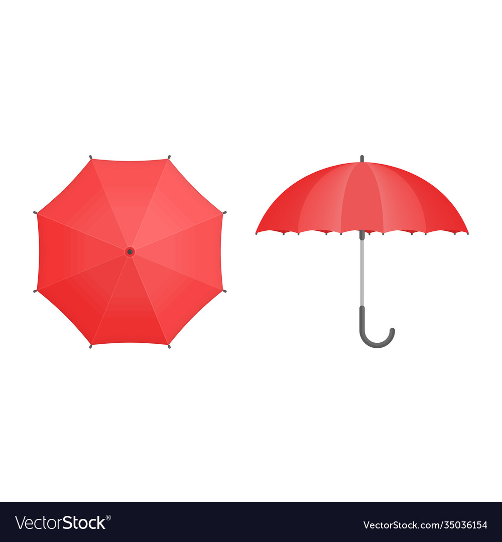 Set umbrellas