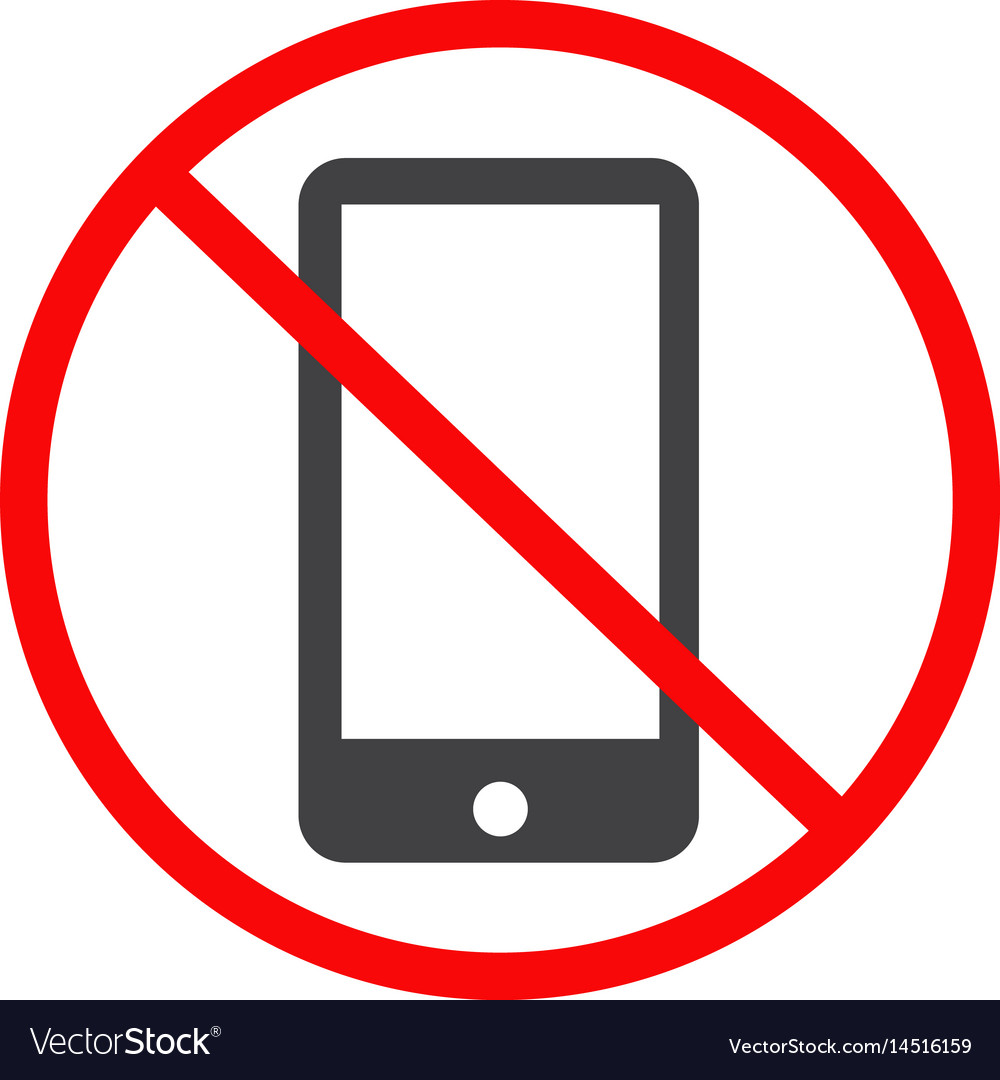 Image result for no phone