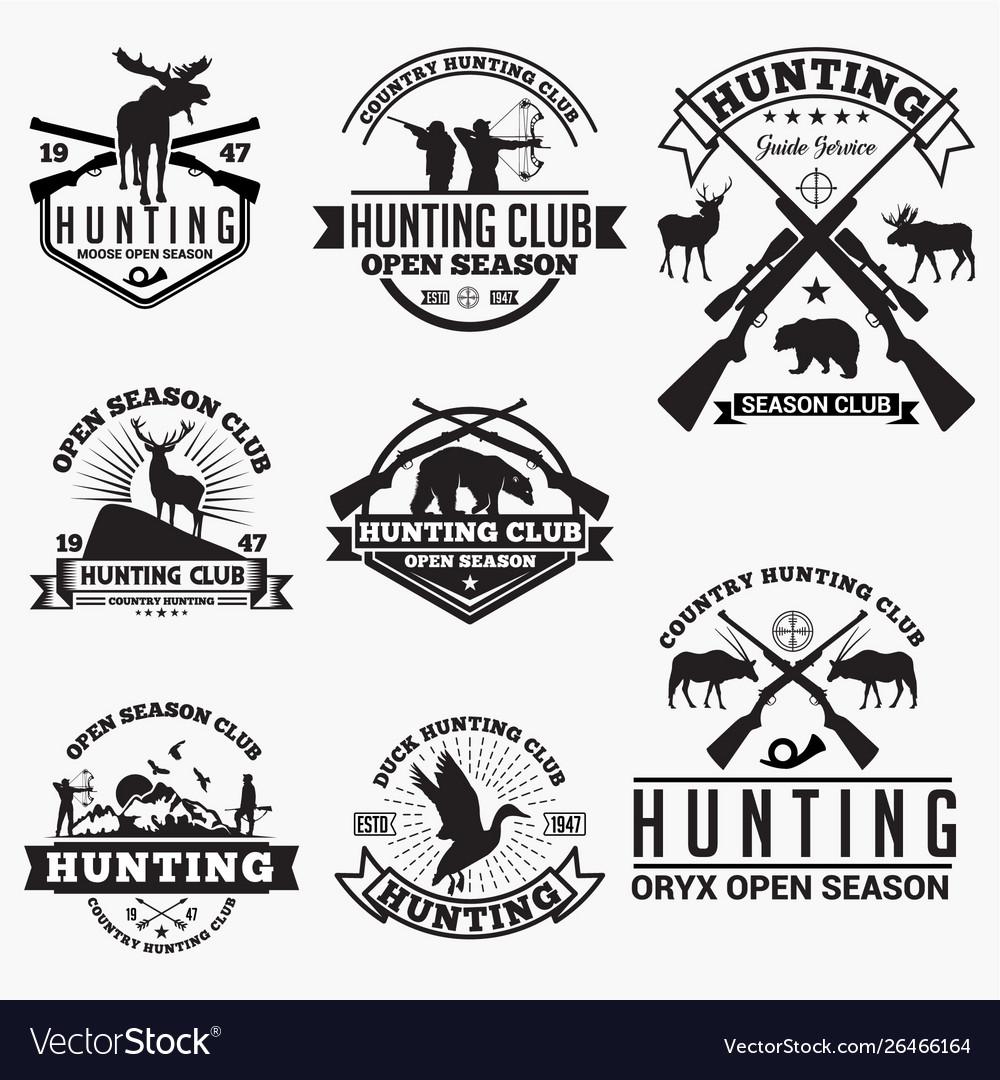Hunt 1 logo badge