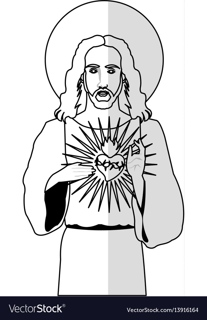 Jesus christ man icon