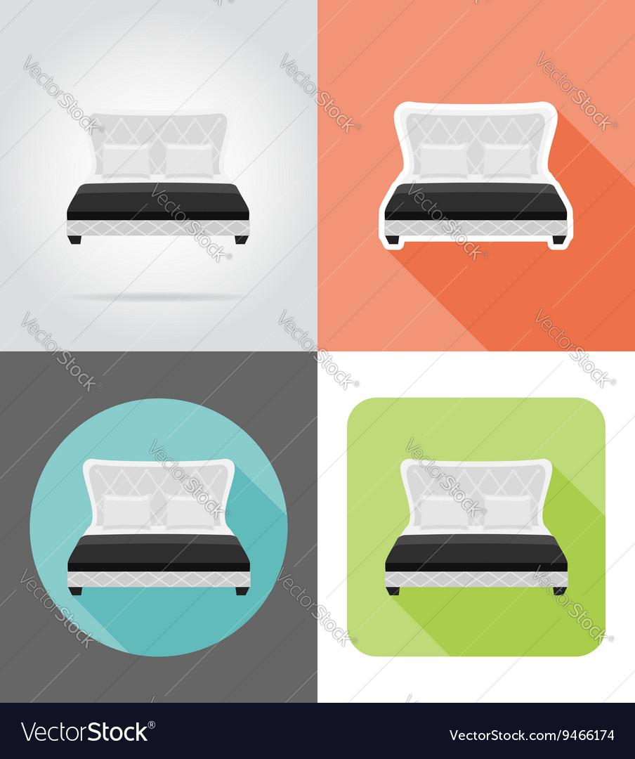 Furniture flat icons 11