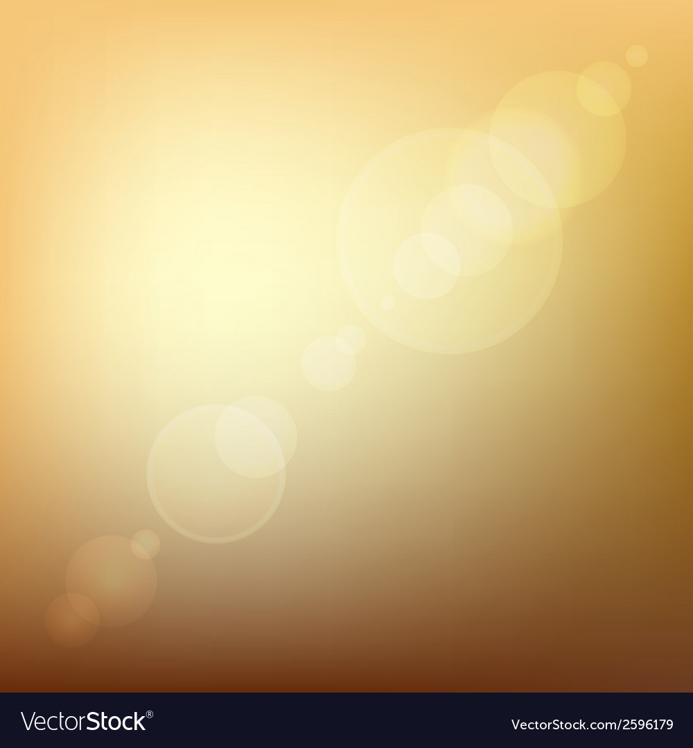 Orange Soft Colored Abstract Background with Lens