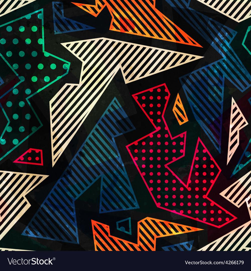 Retro cloth seamless pattern