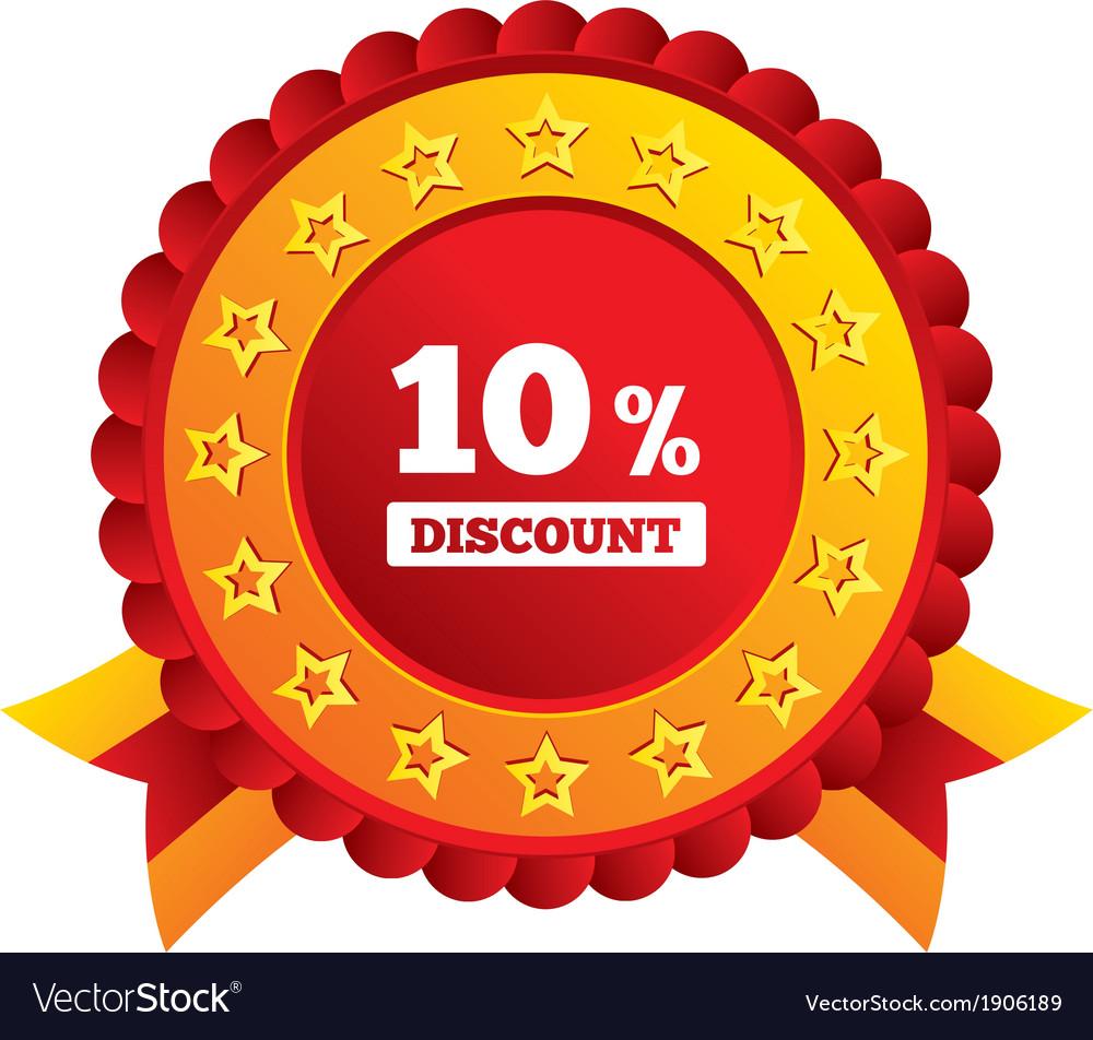 10 discount icon