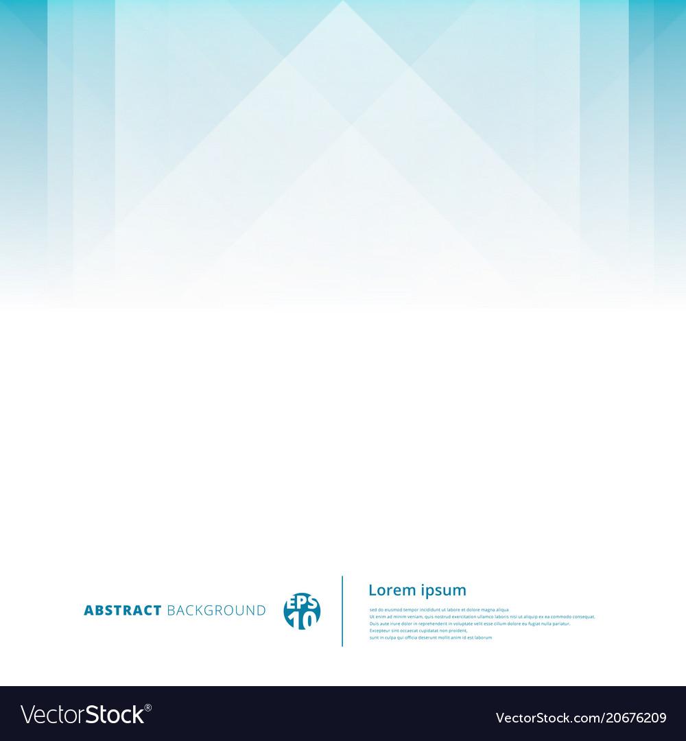 Abstract technology geometric overlap light blue