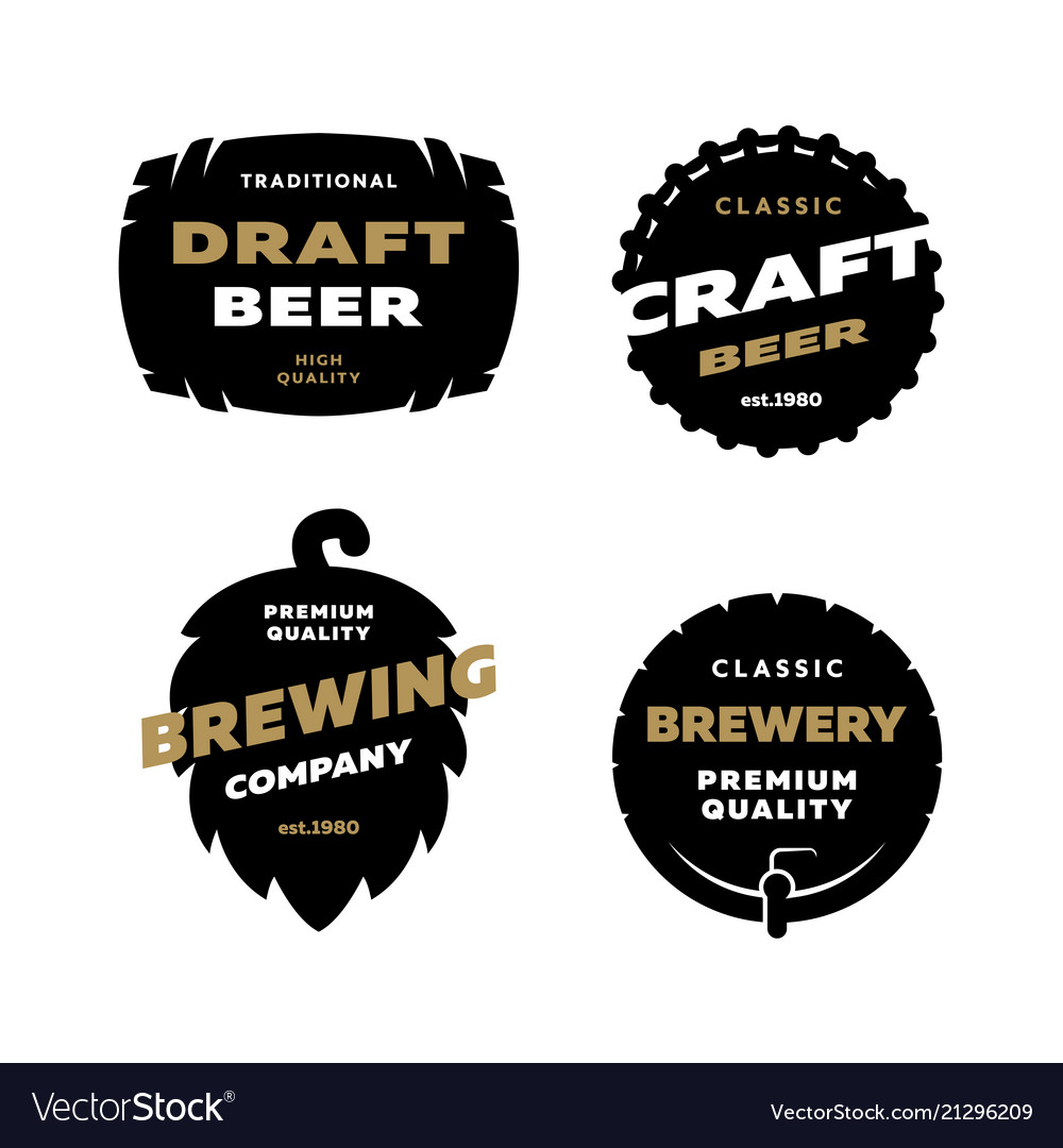 Set brewing logo emblem