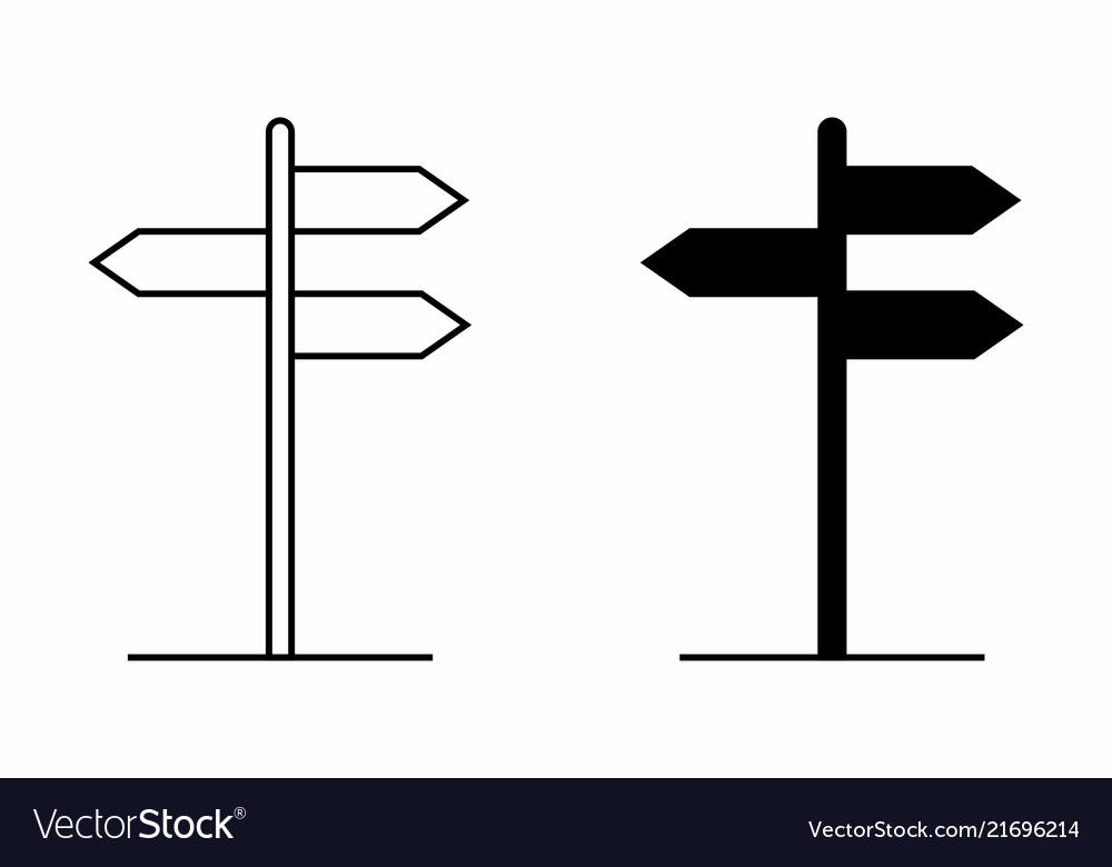 Direction plates
