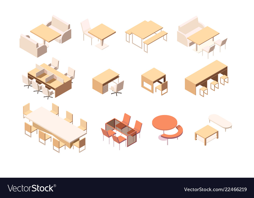 Collection of various furniture for various