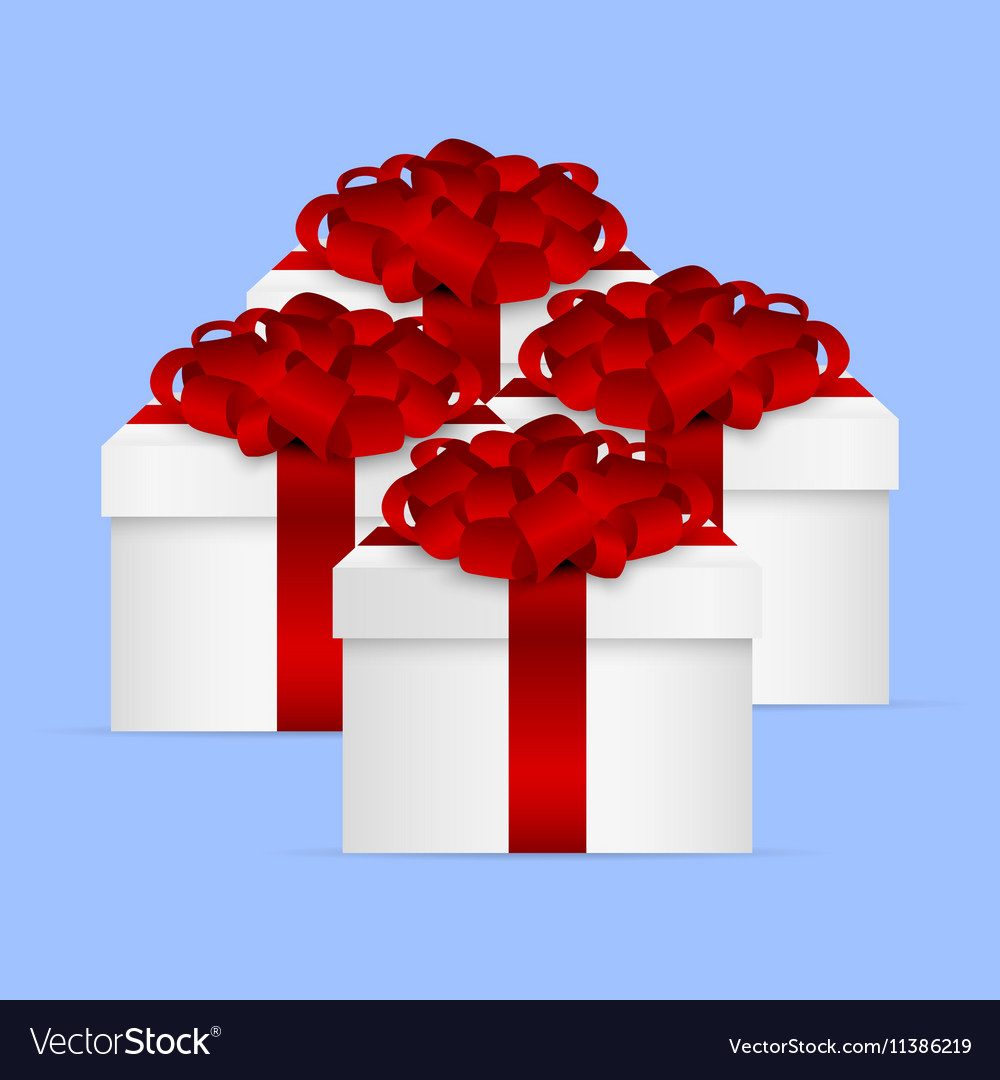 Gift Collection in a box with red bow