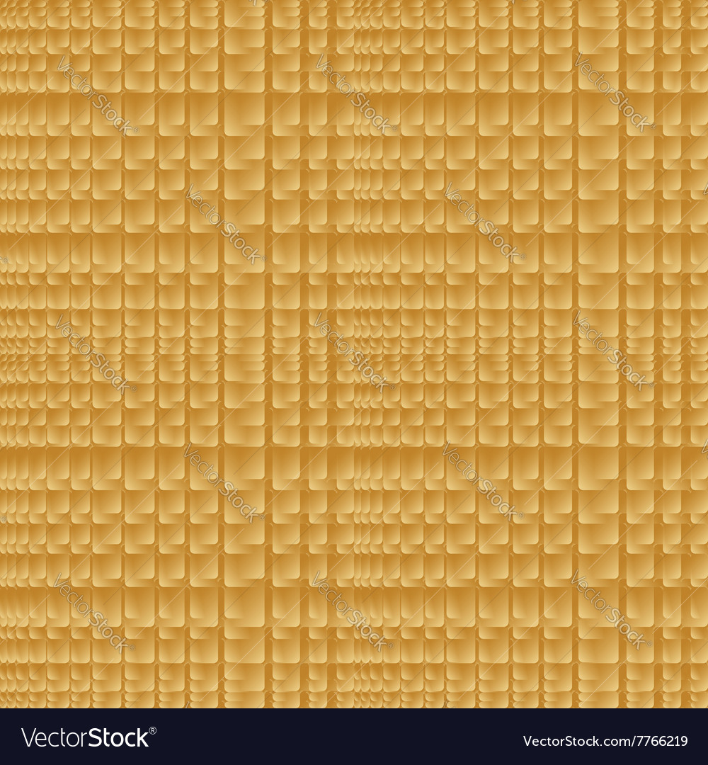 Golden abstract square background