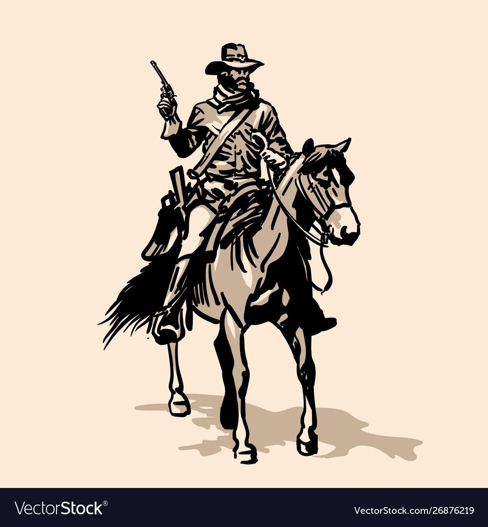 Horseman soldier southern us civil war