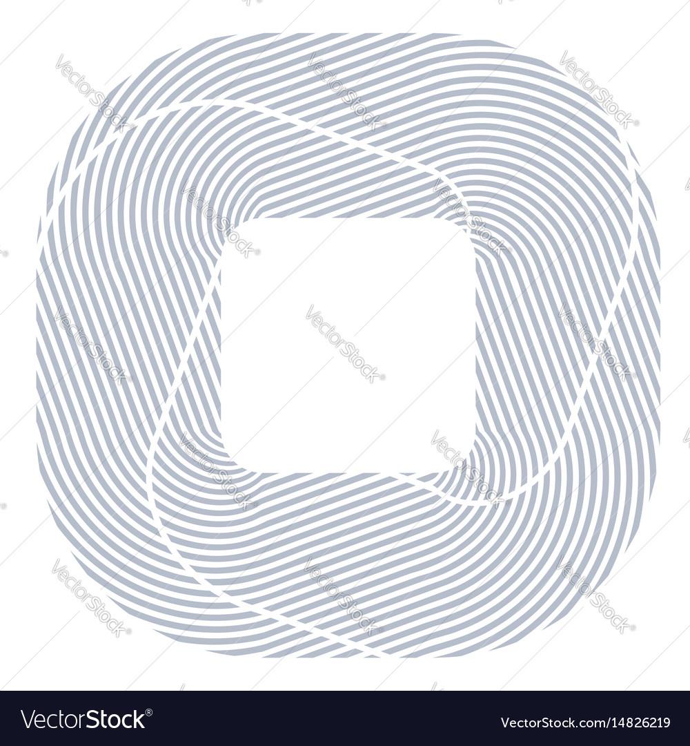 Square design element