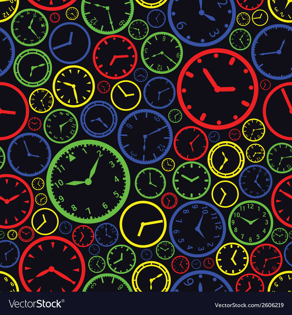 Watch dial color pattern eps10