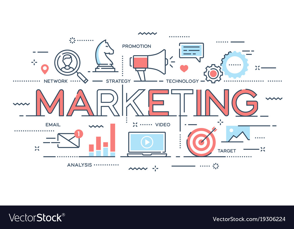 Marketing promotion advertisement seo social
