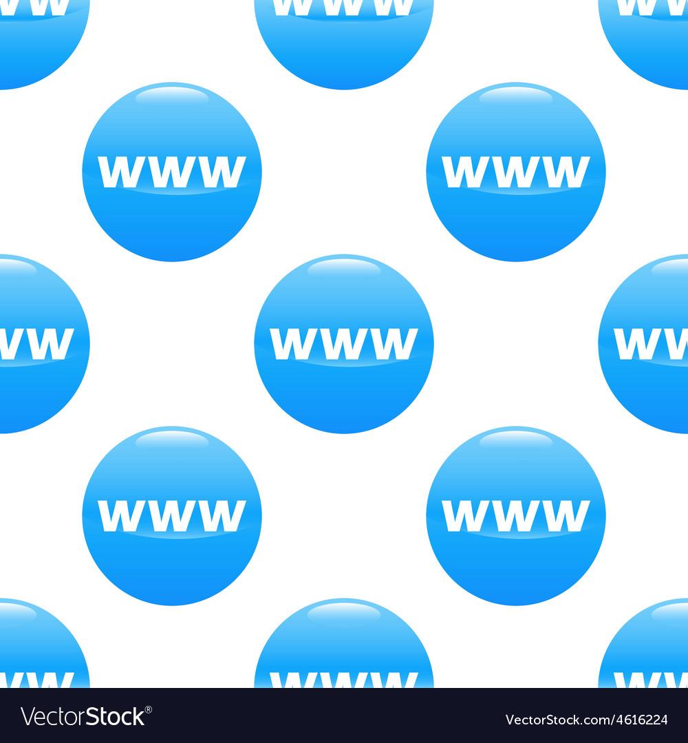 WWW sign pattern
