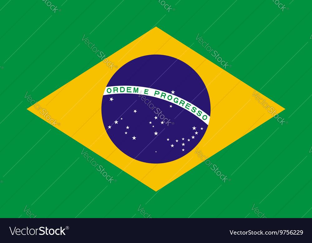 Brazil flag background Patriotic banner for