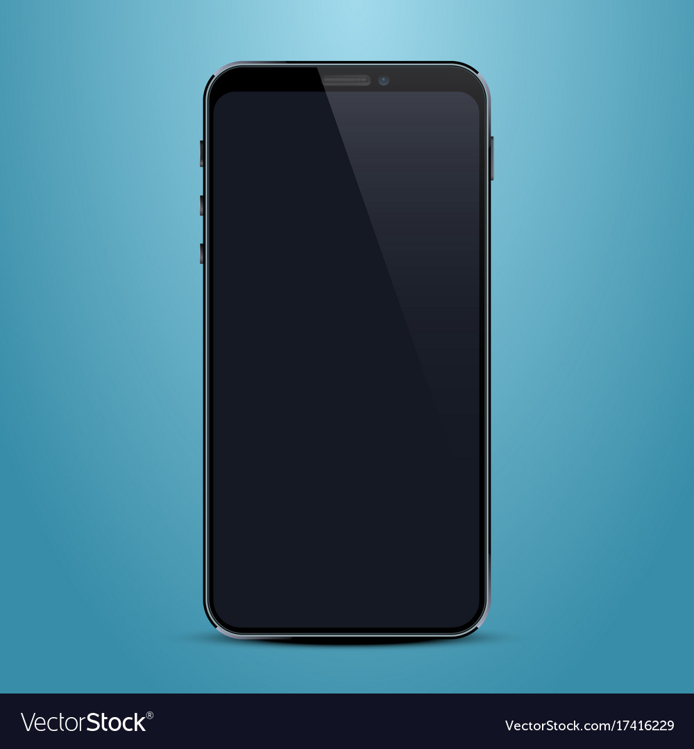 Phone with a black screen object electronics