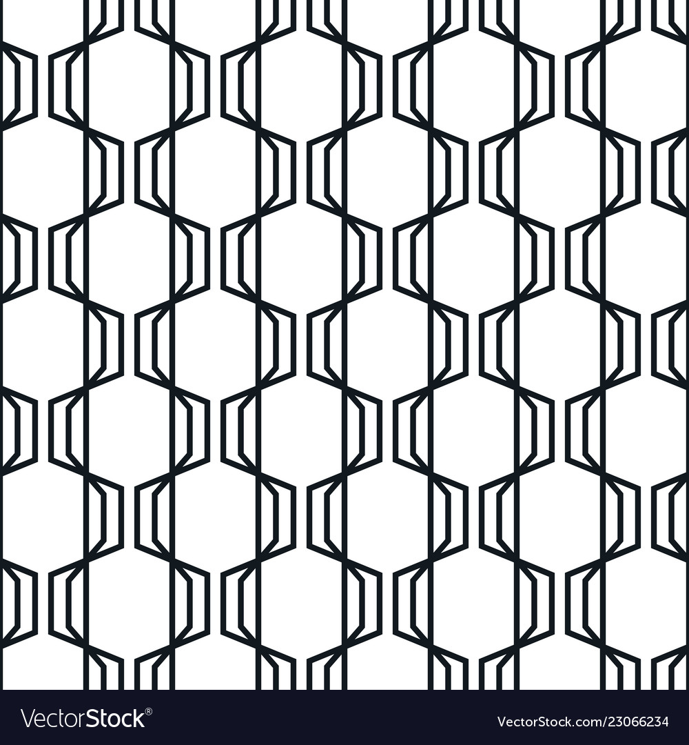 Abstract geometric seamless pattern simple wavy