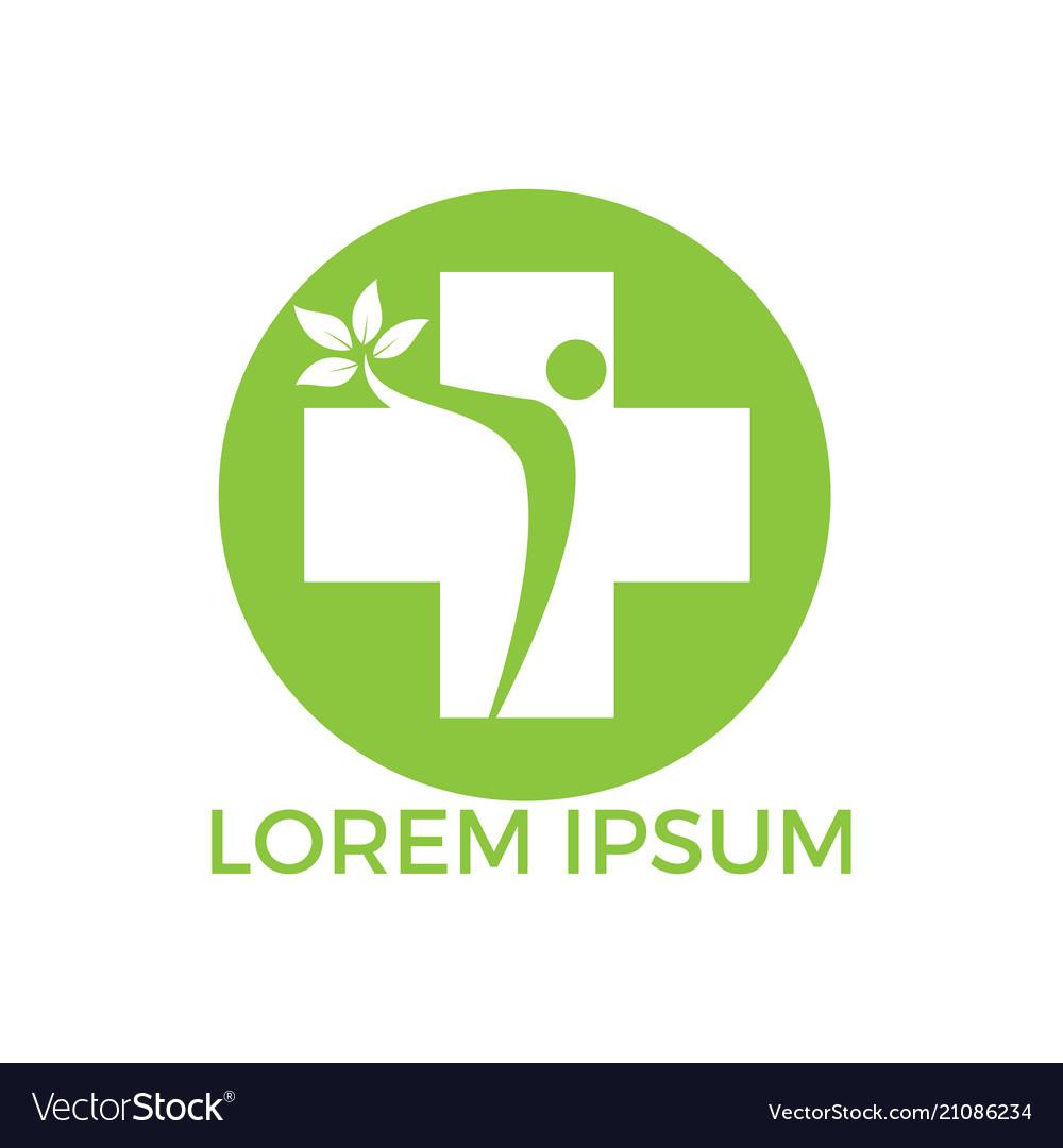 Abstract medical logo design