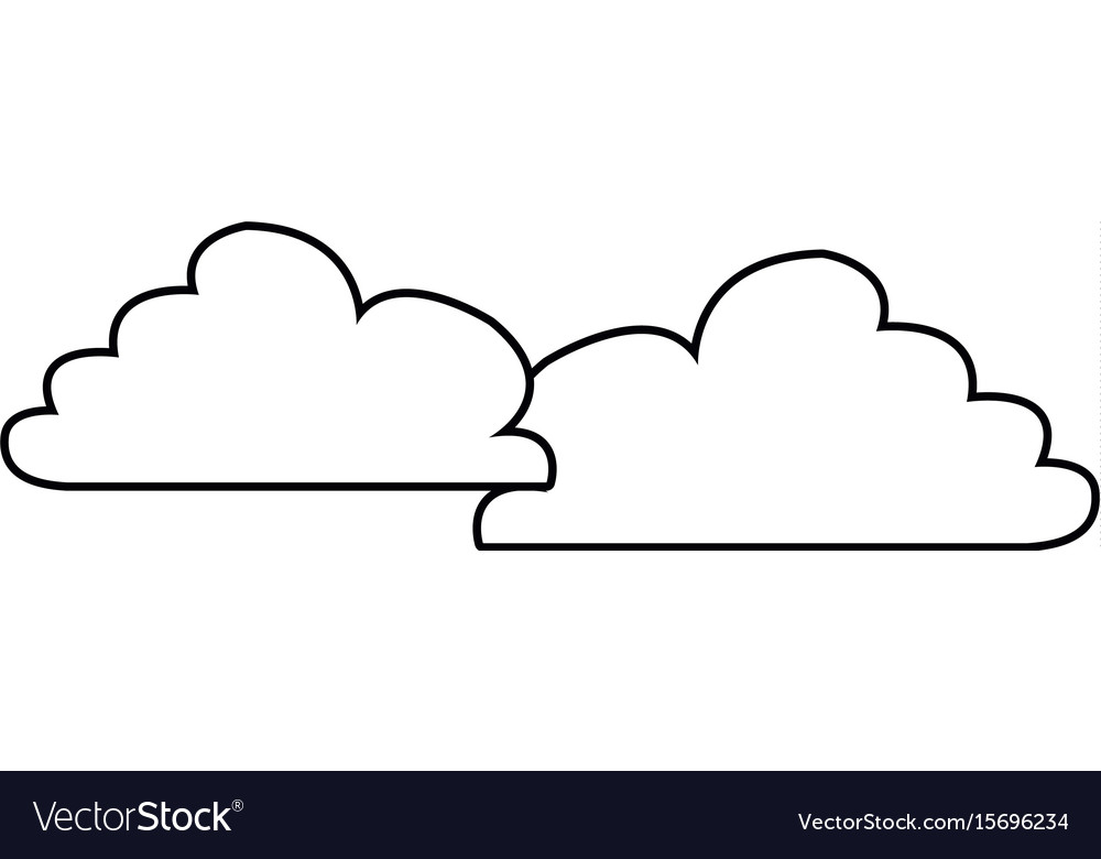 Cloud weather sky atmosphere climate icon