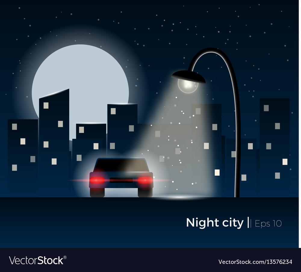 Night city concept