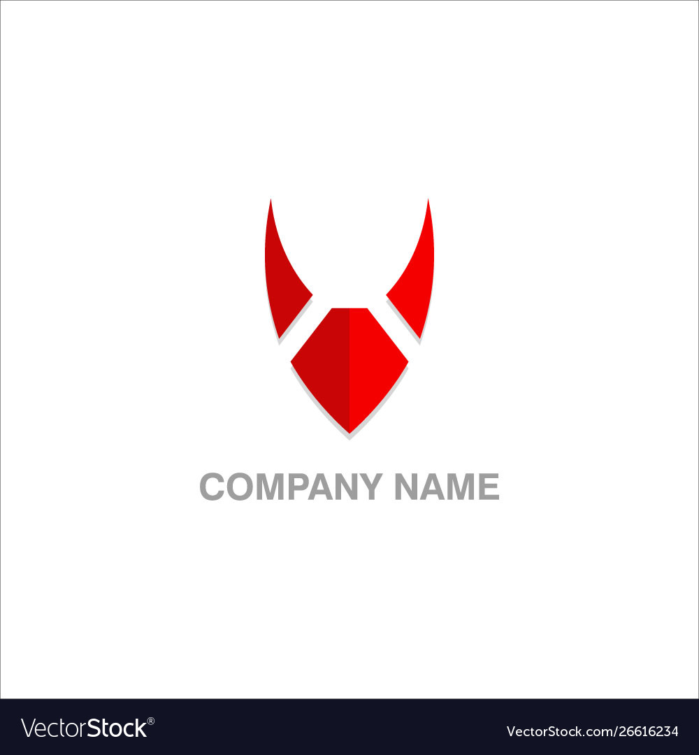 V initial logo