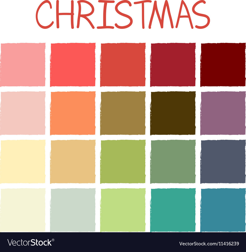 Christmas Colors.Christmas Colorful Color Tone