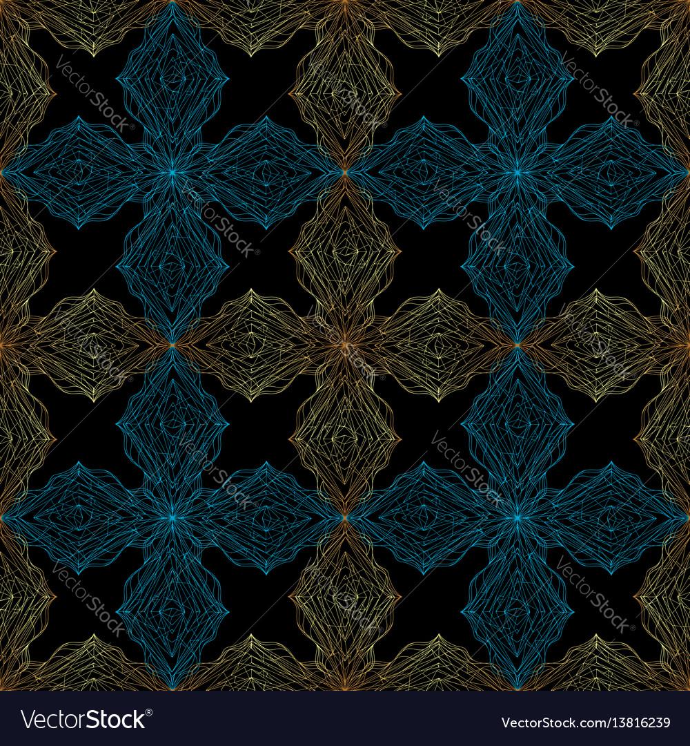 Hand drawn ornament pattern geometric