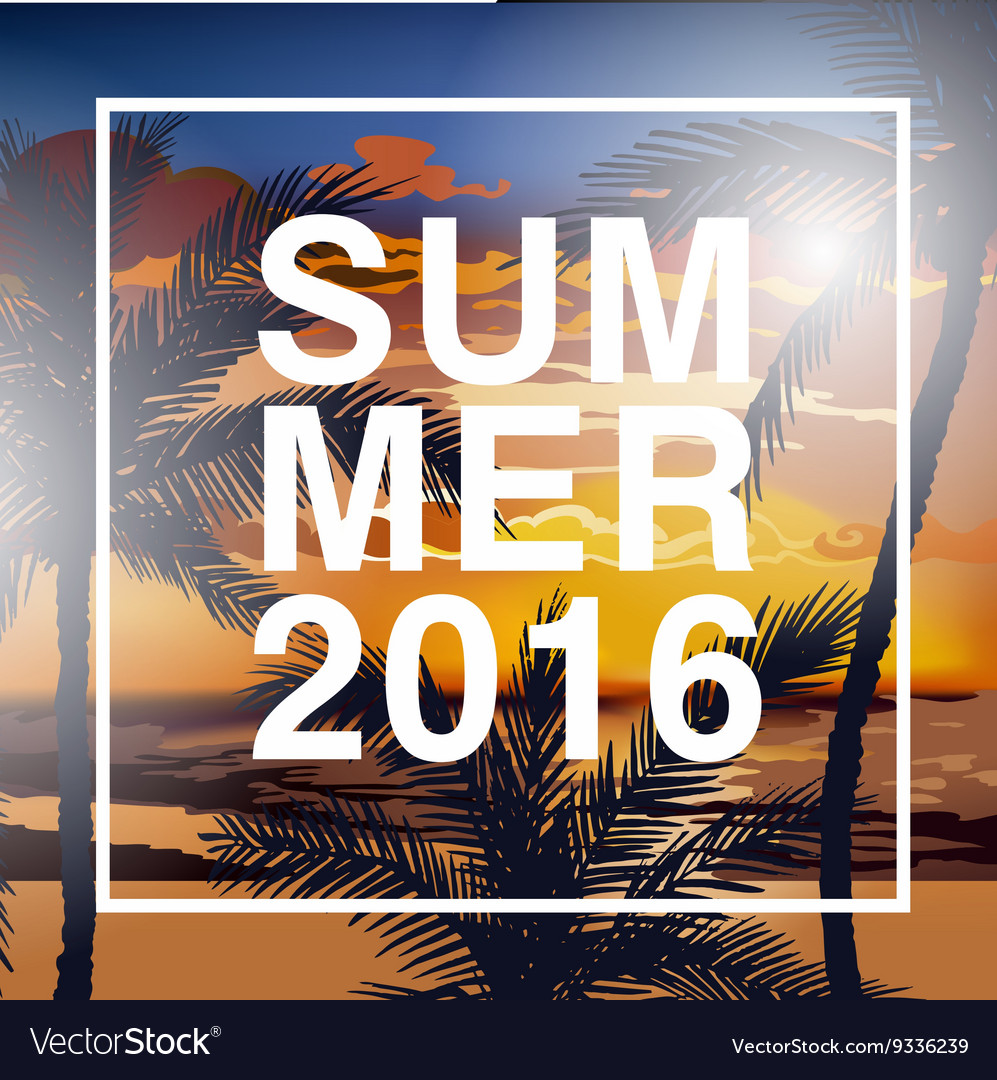 Hello Summer Beach Party Flyer