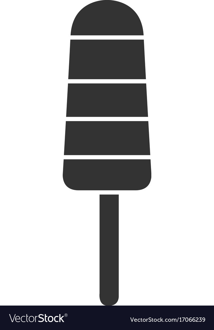 Isolated popsicle icon