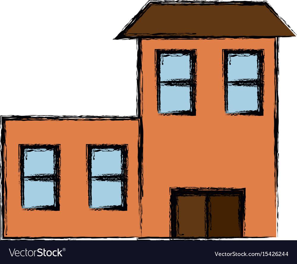 Isolated big house