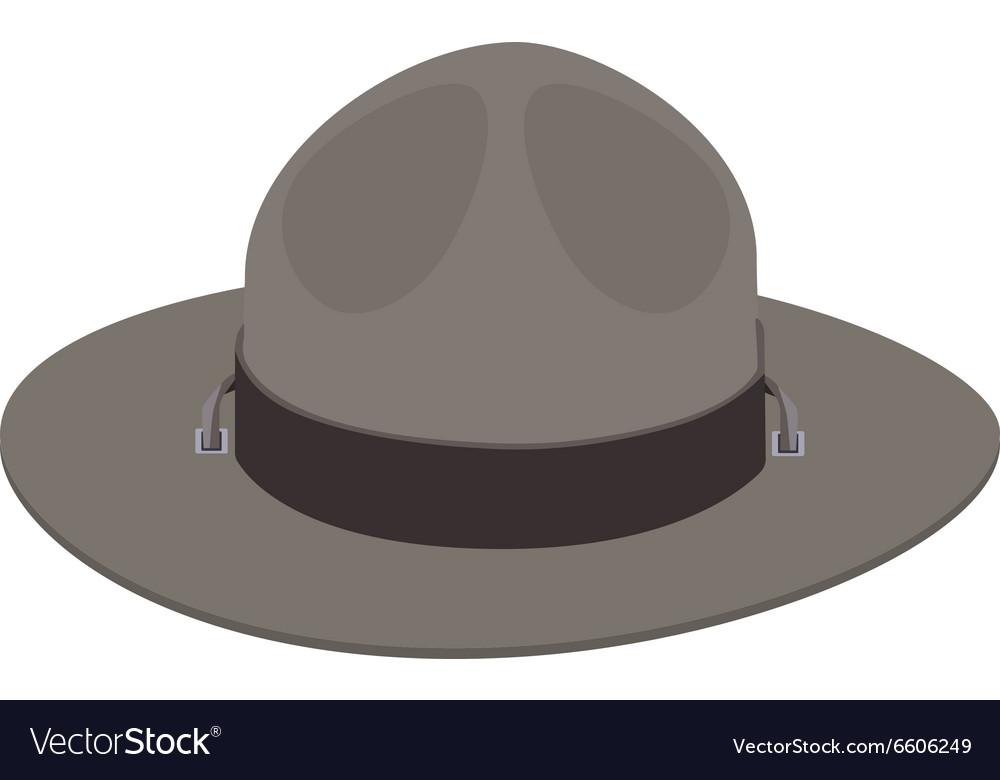 Camp scout hat