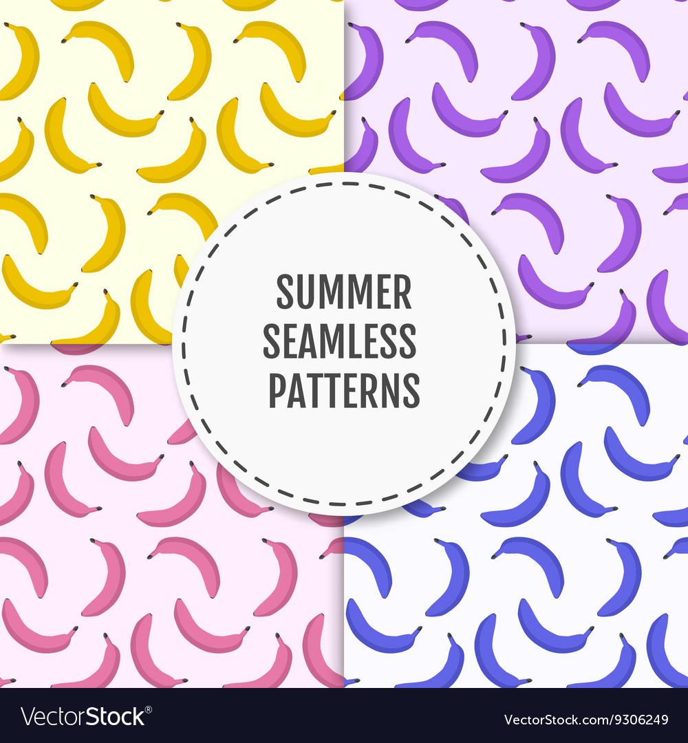 Colorful summer stylish seamless pattern