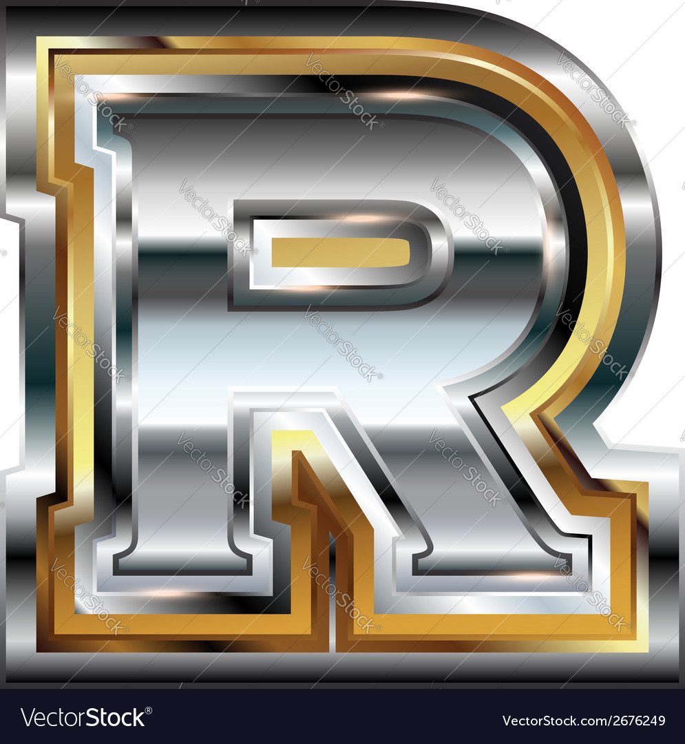 Fancy font letter r royalty free vector image vectorstock fancy font letter r vector image thecheapjerseys Image collections