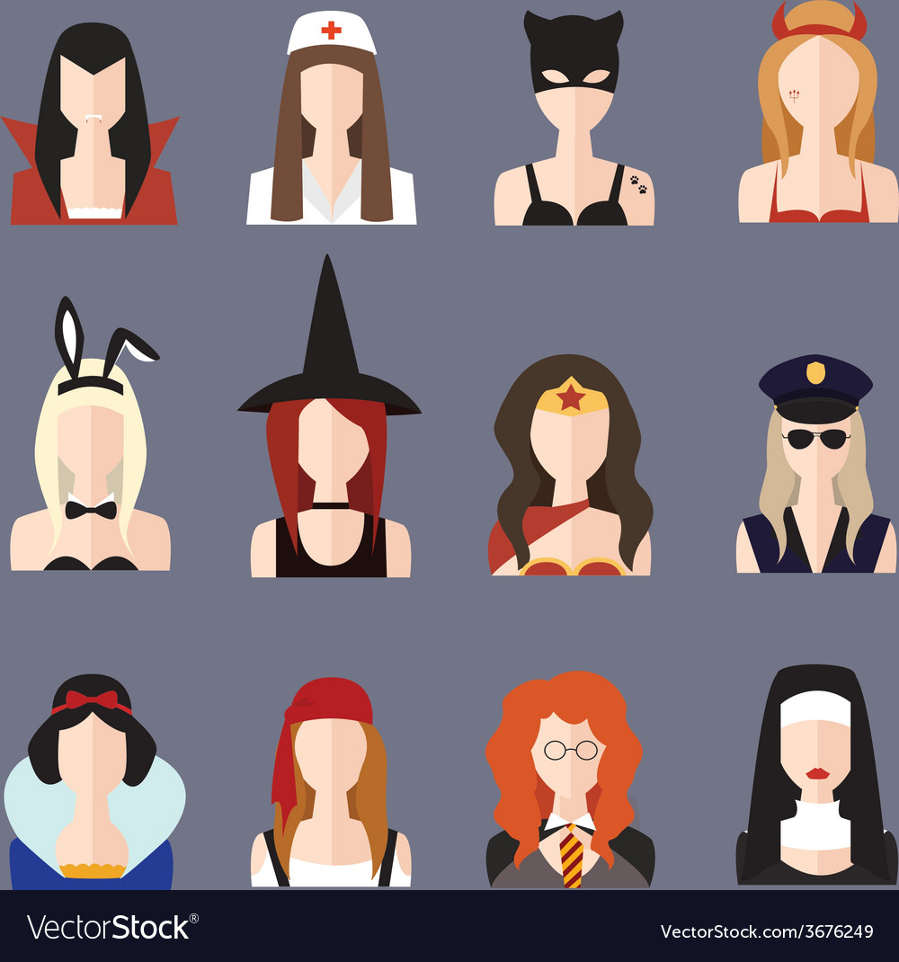 Halloween girl set