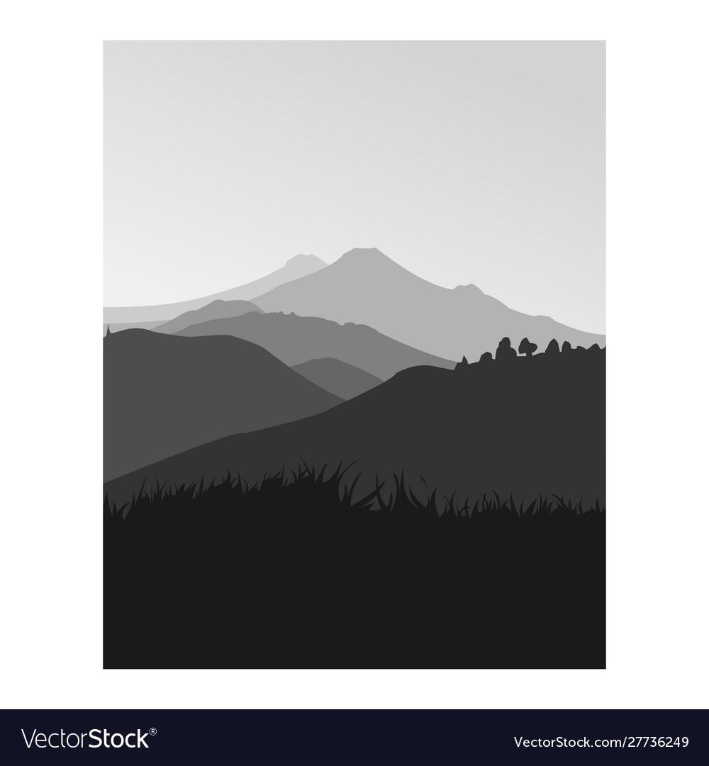 Landscape mountainprintable wall art
