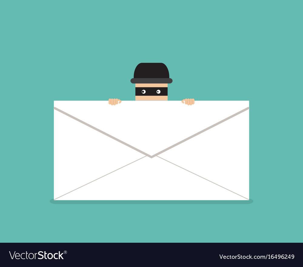 Thief hide behind phishing mail