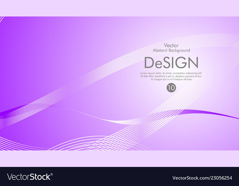Abstract background color flow waved lines stock